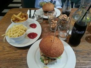 Burgers at GBK