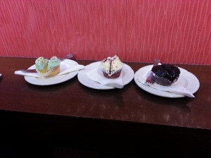 Vanilla Cupcake, Red Velvet, something extremely chocolicious!