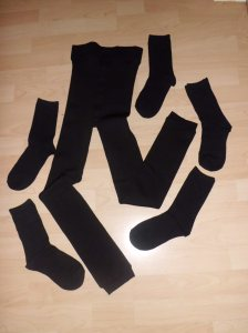 Plush Leggings and Socks - Primark
