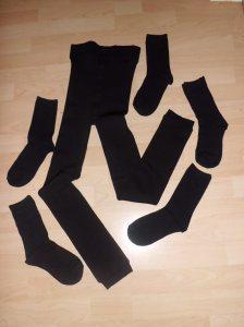 Plush Leggings and Socks - Primark