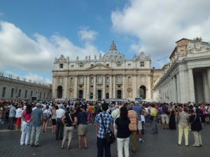 In front of San Pietro